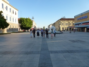 Slavonski Brod, square (Photo by Media-Via)